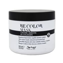 Маска после окрашивания с кератином и коллагеном Be Hair Be Color After Colour Mask Caviar Keratin Collagen 500 ml