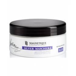 Маска с антижелтым эффектом и протеинами шелка для светлых волос Magnetique Mask Silver Satin Line 300 ml