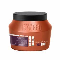 Маска с икрой для окрашенных волос KayPro Caviar Supreme Color Care Protection Mask 500 ml