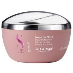 Маска увлажняющая для волос ALFAPARF Semi Di Lino Moisture Nutritive Mask 200 ml