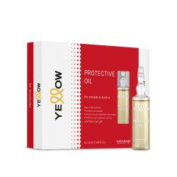 Масло для защиты кожи головы и структуры волос во время окрашивания Alfaparf Yellow Protective Oil 6x13 ml