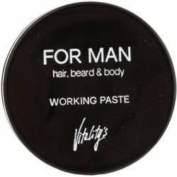Матирующая паста для волос Vitality's For Man Working Paste 75 ml