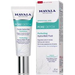 Матирующий гидро флюид для лица Mavala Pore Detox Perfecting Hydra-Matt Fluid 45 ml