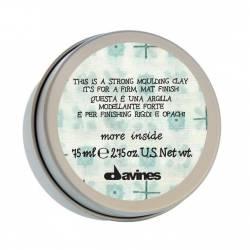 Моделирующая глина для стойкого матового финиша Davines Strong Moulding Clay 75 ml