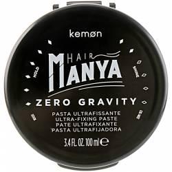 Моделирующая паста для волос экстрасильной фиксации Kemon Hair Manya Zero Gravity 100 ml