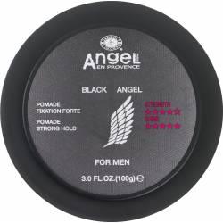 Мужская помада для волос сильной фиксации Angel Professional Black Angel Pomade Strong Hold 100 ml