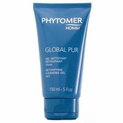 Мужской очищающий гель для лица для выведения токсинов Phytomer Homme Global Pur Detoxing Cleansing Gel 150 ml