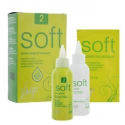 Мягкая химическая завивка для тонких и неокрашенных волос Vitality's Soft №2 2x100 ml