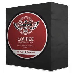 Мыло ручной работы Кофе Kondor Hair & Body Handmade Soap Coffee 140 g