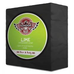 Мыло ручной работы Лайм Kondor Hair & Body Handmade Soap Lime 140 g