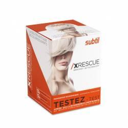 Набір 12 шт. 7,5 мл  №1 + 20 мл №2  Subtil XRescue  комплекс для восстановления волос