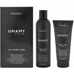 Набор для домашнего ухода за волосами Kemon Unamy System Home Care Kit
