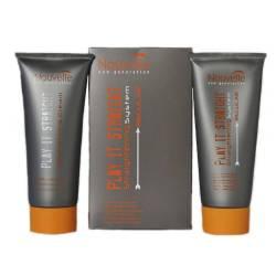 Набор для химического выпрямления окрашенных и чувствительных волос Nouvelle Play It Straight Extra + Neutralizer Kit 2x200 ml