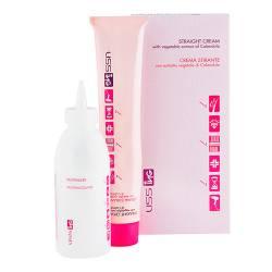 Набор для химического выпрямления волос ING Kit Straight Cream 2x100 ml