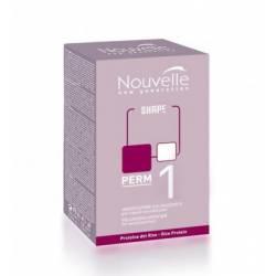Набор для химической завивки нормальных волос Nouvelle Shape Kit 1, 2x120 ml