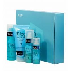 Набір для процедури ламінування волосся Estel iNeo-Crystal з 3D гелем для сильно пошкодженого волосся
