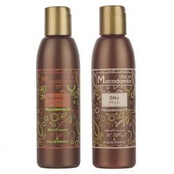 Набор для волос Шампунь + Маска Kleral System Olio Di Macadamia Kit (150 ml+150 ml)
