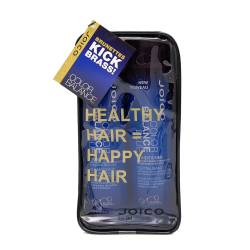 Набор для волос восстанавливающий баланс (голубой) Joico Color Balance Blue Gift Pack 2x300 ml