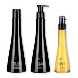 Набор для восстановления волос pH Laboratories Argan&Keratin Kit (shm250ml + mask250ml + elixir100ml)