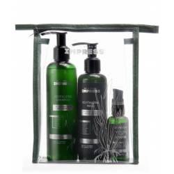 Набор для восстановления волос (шампунь+маска+флюид) Impress Revitalizing Kit
