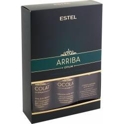 Набор ESTEL CHOCOLATIER ARRIBA ( шампунь, бальзам, спрей-сияние)