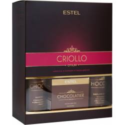 Набор ESTEL CHOCOLATIER CRIOLLO (шампунь, бальзам, маска для рук)