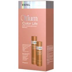 Набор шампунь 250 мл. + бальзам для окрашенных волос Estel Professional Otium Color Life