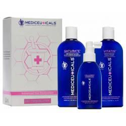 Набор женский для стимуляции роста сухих волос Mediceuticals For Women Kit Dry (2х250 ml+125 ml)
