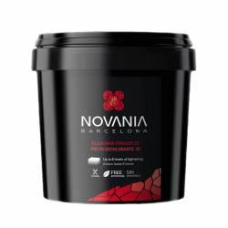 Обесцвечивающий безаммиачный порошок 3D до 8 тонов Novania Barcelona Bleaching Powder 500 g