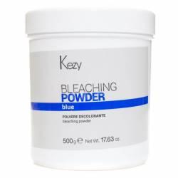 Обесцвечивающий порошок анти-желтое действие (голубой) Kezy  Bleaching Powder Blue 500 g