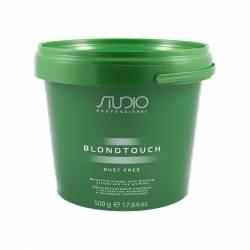 Обесцвечивающий порошок для волос с экстрактом женьшеня и рисовыми протеинами Kapous Professional Studio Powder 500 g