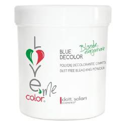 Обесцвечивающий порошок до 7 уровней голубой Dott. Solari Love Me Color Blue Decolor 500 g
