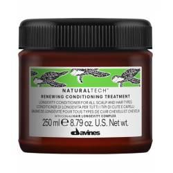 Обновляющий кондиционер против старения кожи головы и волос Davines Natural Tech Renewing Conditioning Treatment 250 ml