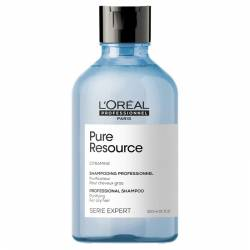 Очищающий шампунь для склонных к жирности волос L'Oreal Professionnel Serie Expert Pure Resource Shampoo 300 ml