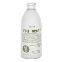 Очищающий шампунь для волос и кожи головы с экстрактом бамбука Ollin Professional 300 ml