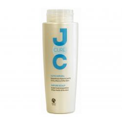 Очищающий шампунь с экстрактом белой крапивы Barex Purifying Shampoo White Nettle & Burdock 250 ml