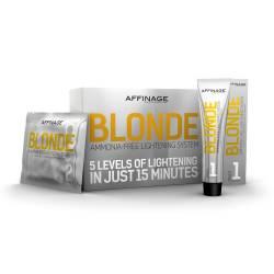 Осветляющая безаммиачная система набор Affinage Blonde Lightening AMMONIA-FREE