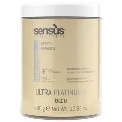 Осветляющая пудра (банка) Sens.us Deco Ultra Platinum 9, 500 g