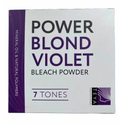 Осветляющая пудра для волос Teya Professional Power Blond Violet 7 Tones 500 g