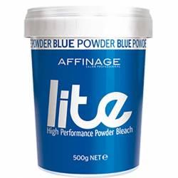 Осветляющая пудра Голубая Affinage Lite Blue Powder Bleach 500 g