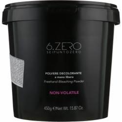Осветляющий порошок для открытых техник 6. Zero Seipuntozero Freehand Bleaching Powder 450 g