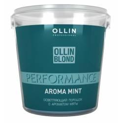 Освітлюючий порошок з ароматом м'яти Ollin Professional Blond Powder With Mint Aroma 500 g