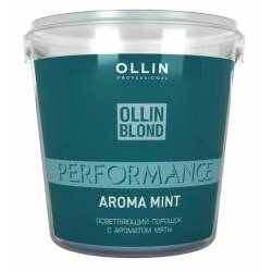 Осветляющий порошок с ароматом мяты Ollin Professional Blond Powder With Mint Aroma 500 g