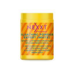 Осветляюший порошок белый в банке Nexxt Professional BLEACHIHG POWDER WHITE 500 g