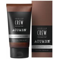 Отшелушивающее Очищающее Средство для Умывания с Глиной American Crew Acumen Clay Exfoliating Cleanser 150 ml