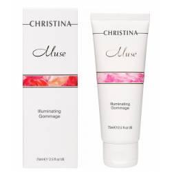 Отшелушивающий гоммаж для сияния кожи Christina Muse Illuminating Gommage 75 ml