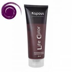 Оттеночный бальзам (фиолетовый) Kapous Professional Life Color Coloring Balm 200 ml