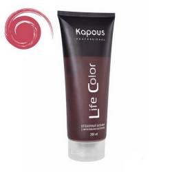 Оттеночный бальзам (гранатовый красный) Kapous Professional Life Color Coloring Balm 200 ml