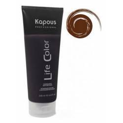 Оттеночный бальзам (коричневый) Kapous Professional Life Color Coloring Balm 200 ml