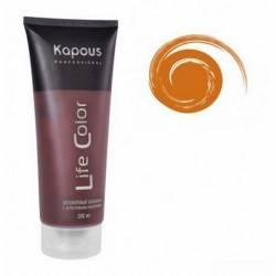 Оттеночный бальзам (медный) Kapous Professional Life Color Coloring Balm 200 ml